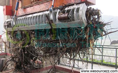 清污抓斗,清污機,抓斗清污機,鋼絲繩電纜,水電站清污,微源科技
